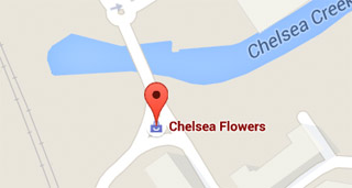Chelsea Flowers Map